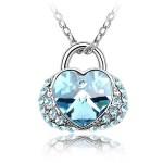La Javardi Swarovski Element Crystal Jewelry Heart