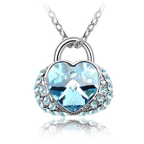 La Javardi Swarovski Element Crystal Jewelry Heart